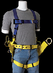 Gemtor 2000 Safety Harness For tower erection & maintenance chest strap & Pass thru leg straps