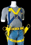 Gemtor 2015 Safety Harness For tower erection & maintenance front D-ring and tongue buckle leg straps