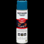 Rust-Oleum® Precision Line Marking Paint CAUTION BLUE (17 oz Aerosol)