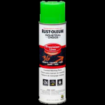 Rust-Oleum® Precision Line Marking Paint FLUORESCENT GREEN (17 oz Aerosol)