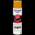 Rust-Oleum® Precision Line Marking Paint CAUTION YELLOW (17 oz Aerosol)