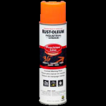 Rust-Oleum® Precision Line Marking Paint FLUORESCENT ORANGE (17 oz Aerosol)