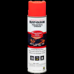 Rust-Oleum® Precision Line Marking Paint FLUORESCENT RED-ORANGE (17 oz Aerosol)