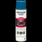 Rust-Oleum® Water-Based Precision Line Marking Paint  CAUTION BLUE (17 oz Aerosol)