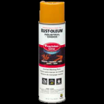 Rust-Oleum® Water-Based Precision Line Marking Paint  CAUTION YELLOW (17 oz Aerosol)