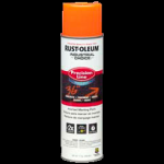 Rust-Oleum® Water-Based Precision Line Marking Paint  FLUORESCENT ORANGE (17 oz Aerosol)
