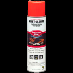 Rust-Oleum® Water-Based Precision Line Marking Paint  FLUORESCENT RED-ORANGE (17 oz Aerosol)