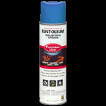 Rust-Oleum® Water-Based Precision Line Marking Paint  FLUORESCENT BLUE (17 oz Aerosol)