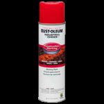 Rust-Oleum® Construction Marking Paint, Water Based SAFETY RED (15 oz Aerosol)