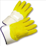 West Chester 3003 Latex Palm Coated Crinkle Finish Safety Cuff Gloves