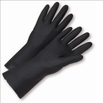 West Chester 32212 Flock Lined Neoprene Gloves Black
