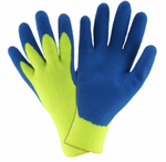 West Chester Premium Hi-Viz Latex Palm Coated Thermal Knit Cold Weather Gloves