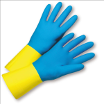 West Chester 33224 Standard Neoprene Over Latex Flocked Lined Gloves