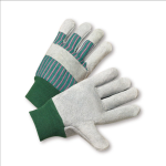West Chester 350-EA Select Split Cowhide Palm Knuckle Strap Gloves