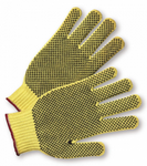 West Chester Yellow PVC Dotted Kevlar® Gloves
