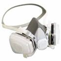 3M Half Facepiece Disposable Respirator Assembly 53P71, Organic Vapor/P95 Respiratory Protection, Large