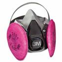 3M 6000 Series Half Facepiece Respirator, P100 Medium
