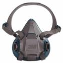 3M 6502 Rugged Comfort Half-Facepiece Reusable Respirator, Medidum