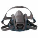 3M 6503QL Rugged Comfort Quic-Latch Half-Facepiece Reusable Respirator, Large