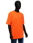 West Chester Medium Orange Hi-Visibility Short Sleeve Shirt