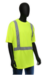 West Chester Medium Lime Class 2 Standard Short Sleeve Shirt