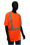 West Chester Medium Orange Class 2 Standard Short Sleeve Shirt