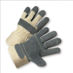West Chester 500DP-AA Premium Split Cowhide Leather Double Palm Gloves