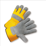 West Chester 500Y Premium Split Cowhide Palm Rubberized Cuff Gloves