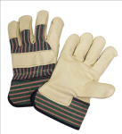 West Chester 5150 Grain Leather Palm Rubberized Cuff Gloves
