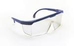 SAS 5267 Hornets Safety Glasses - Blue Frame with Clear Lens - Polybag (12 Pr)