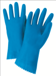 "West Chester 52L102 Premium, Flock Lined Blue Latex 21 mil 12"" Glove"