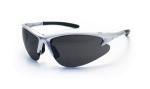 SAS 540-0501 DB2 Safety Glasses - Silver Frame with Shade Lens - Polybag (12 Pr)