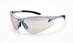 SAS 540-0502 DB2 Safety Glasses - Silver Frame with In/Outdoor Mirror Lens - Polybag (12 Pr)