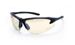SAS 540-0602 DB2 Safety Glasses - Black Frame with In/Outdoor Mirror Lens - Polybag (12 Pr)