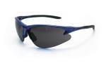 SAS 540-0701 DB2 Safety Glasses - Blue Frame with Shade Lens - Polybag (12 Pr)