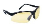 SAS 541-0006 Sidewinder Safety Glasses - Black Frame with In/Outdoor Mirror Lens - Polybag (12 Pr)