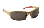 SAS 542-0101 GTR Safety Glasses - Gold Frame with Shade Lens - Polybag (12 Pr)