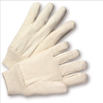 West Chester 8 oz. Cotton/Poly Canvas Knit Wrist Gloves