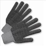 West Chester 708SKBSG PVC-Dotted String Knit Gloves