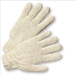 West Chester 710S Med. Weight String Knit Poly/Cotton Gloves