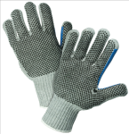 West Chester 712SKBSGT Heavy Weight Poly/Cotton String Knit Gloves