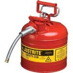 "Type II Safety Can, 2 gal, 5/8"" Hose, Red"