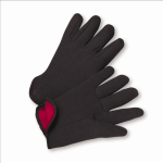 West Chester 755C 100% Cotton Brown Jersey Red Fleece Lined Gloves
