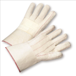 West Chester 7900BLG  Burlap Lined Cotton Hot Mill with Gauntlet Cuff Glove