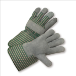 West Chester 828 Select Split Cowhide Palm Plasticized Cuff Gloves