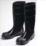 West Chester 8350 Black PVC Steel Toe Boot