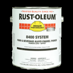 Rust-Oleum® 450 VOC Food & Beverage Alkyd Enamel Paint  HIGH GLOSS DAIRY WHITE (Gallon)