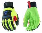 West Chester R2 Green Corded Palm Rigger Insulated Winter Gloves