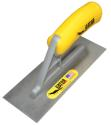 "Gator 8"" x 2"" Square Front & Back Carbon Steel Hand Trowel"