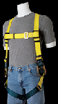 Gemtor 900 Lightweight, sub-pelvic, polyester full-body harness